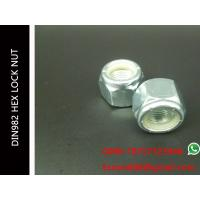 China HEX NYLON NUTS DIN982 Self-locking Nuts with Nonmetallic Insert UNI 7473 Size M3~M56 on sale