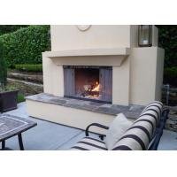 Buy cheap Metallic Coil Fireplace Mesh Curtain / Aluminum Coil Drapery Color Customized product