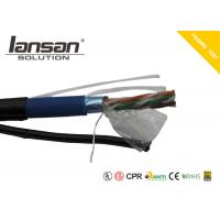 Buy cheap Outdoor UTP Cat5e Cable BC Material With Messenger / Jelly FTP 24AWG Bare Copper product