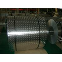 Buy cheap 4 mm Roll Aluminum Checkered Plate , Steel Diamond Plate Sheets For Bus product