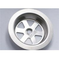 Buy cheap Stainless Steel 304 Sink Strainer Parts Narrow Width Durable 15g For Kitchen product