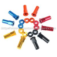 Buy cheap CNC Billet MX Bling Kit Wheel Lock Nuts And Wheel Spacers For MX Dirt Bike product