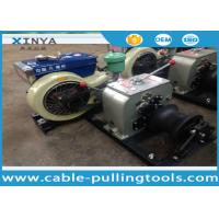 Buy cheap 3 Ton Hoist diesel engine winch for Erection Towers During Transmission Line product