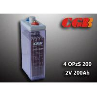Buy cheap 2V 4 OPzS200 Tube Vented ABS Opzs Batteries Solar Energy Storage Application product