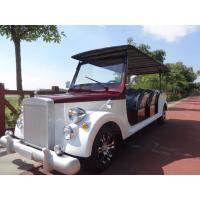 Buy cheap 38.5KW Electric Vintage Cars Tours 8 person 30km/h Max Speed JH-JK0321 product