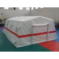 Buy cheap Traditional White Hospital Color Inflatable Tent , 0.65mm PVC Inflatable Emergency Tent product