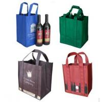 Buy cheap Favorites Compare online shopping wine non woven bag product
