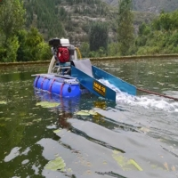 """Buy cheap 24m3/h 6"""" 13hp Gold Mining Dredge Plastic Pontoon And Gas Engine Equiped product"""