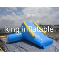 Quality Kids Durable Indoor Outdoor Inflatable Water Slides Pool For Rent , Re-sale for sale
