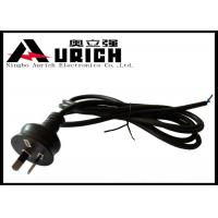 Buy cheap Australia Two Prong Electric Dryer Power Cord SAA Approved 7.5A 250V Black product