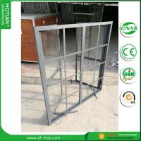 Buy cheap CE approved burglar proof steel fixed windows with grids from China supplier product