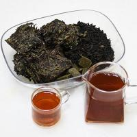 Refreshing Anti - Oxidation Dark Chinese Tea Dry And Ventilated Storage for sale