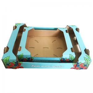 Buy cheap Tomato Custom Dimension Fruit Carton Box Pear Apple Packing Corrugated Carton product