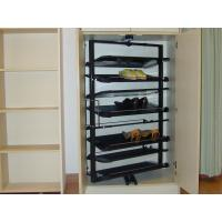 Buy cheap Durable ABS Revolving Shoe Rack, 1437mm / 1180mm Height Rotating Hanging Shoe Racks product