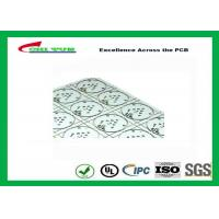 Buy cheap Aluminum Base PCB with High Thermal Conductivity Thickness 4.0mm V-cut LED PCB product