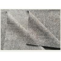 50% Wool Cavalry Twill Fabric 600g ,  Solid Twill Fabric For Mens Wool Winter Coats