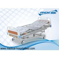 China 5 Function Hospital Critical Care Beds , Semi Fowler ICU Patient Beds wholesale