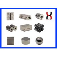 Buy cheap Sintered Customized Size NdFeB Permanent Magnet For Speakers , Packages product