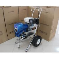 Quality Large Gasoline Powered Airless Paint Spraying Equipment With High Pressure Hose for sale