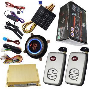 Buy cheap Auto Car Engine Start Stop System Kit Keyless Ignition Solution Smart Phone Door Locks product