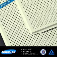 Buy cheap Acoustic Ceiling Tile with Perforated Metal Strips product