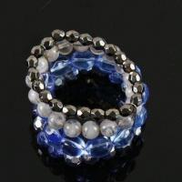 Buy cheap Handwork Bracelets in Graceful Design, Made of Plastic, CCB and Metal, OEM Orders are Welcome product