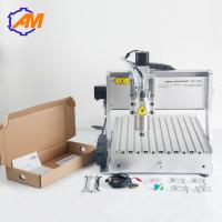On sale mini metal cnc engraving copper machine Small 4th axis 3040 cnc router machine with usb port