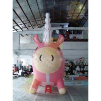 Buy cheap Attractive Large Inflatable Unicorn , Customized Durable Unicorn Balloon product