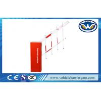 Buy cheap Highway Station Toll Barrier Gate Cold Roll Steel Sheet Housing With Adjusted from wholesalers