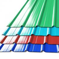 Buy cheap Pre - Painted Galvalume Steel Building Roof Tiles / Aluminum Roof Sheet For Warehouse product