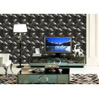 Buy cheap Mould - Proof Removable home decoration wallpaper With Geometric Pattern product