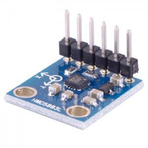 Buy cheap Модуль 3В-5В датчика магнитометра компаса оси ХМК5883Л 3 электронный для Ардуйно product
