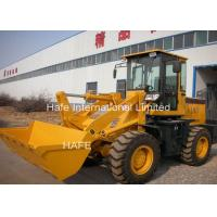 Buy cheap Customized Color Compact Wheel Loader Road Construction Machinery Pilot Control product