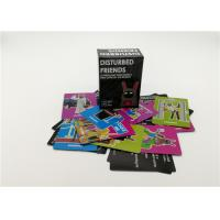 Interesting Disturbed Friends Card Games For Grown Ups OEM / ODM Available