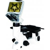 Buy cheap Digital LCD Inverted Metallurgical Microscope with 4 Infinite Plan Achromatic Objective from wholesalers