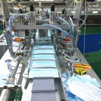Buy cheap Full Automatic Face Mask Production Line With 1 To 2 Style product