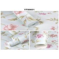 Buy cheap Eco - Friendly Custom Strippable Self Adhesive Wallpaper For Sofa Background product