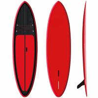 "Buy cheap Red Inflatable SUP Board 9'6"" Firberglass Plate Design Fast Speed High Durability product"
