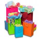 Buy cheap Matte Laminate Jewelry Gift Bags / Custom-printed Jewellery Paper Bag product