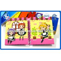 China Cartoon Animal computer sticky notes / Cute Memo Pad For Kids on sale