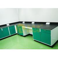 Buy cheap Resist strong alkalies laboratory work benches for pharmaceutical company from wholesalers