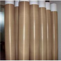 Buy cheap High Temperature Ptfe Coated Glass Fibre Fabric Chemical Resistance product
