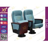 Buy cheap Modern Folding Single Leg Auditorium Theater Seating For Church Hall 5 Years from wholesalers