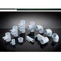 Buy cheap PVC Plumbing Parts Plastic Water Distribution Manifold , Tee , Elbow For Connecting product