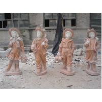 Buy cheap Four Seasons Stone Statue With Children product
