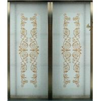 Buy cheap Decorative Glass Sliding Door, Aluminum Frame Interior Partition Sliding Doors For Kitchen product