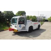 Security Diesel Tow Tractor , Aircraft Towing Equipment Suspension Driver Seat