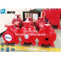 Buy cheap Single Stage Horizontal Centrifugal End Suction Fire Pump Set With Diesel Engine product