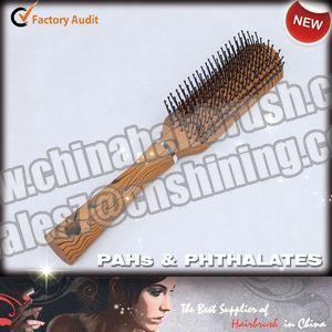 China Plastic Flat Hair Brush on sale