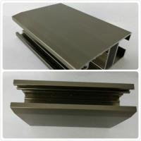 Buy cheap Oxidizing Bronze Anodized Aluminum Profiles , Channel With Customized Shape product